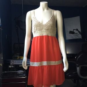 Flying Tomato Crotchet Top Dress